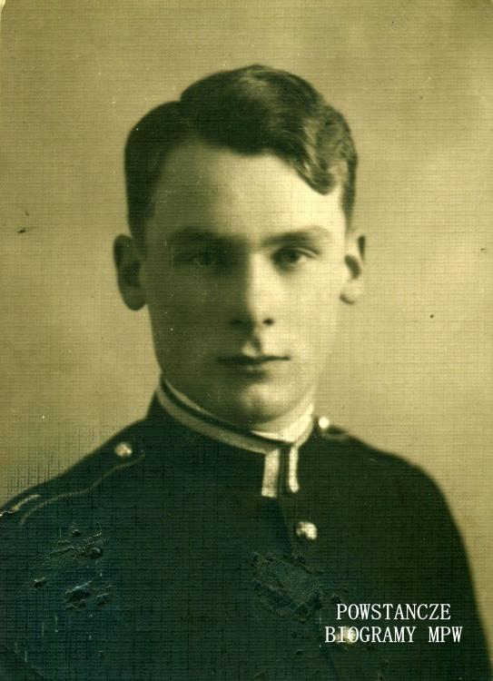 """Mieczysław Sokołowski ps. """"Dakowski"""" (1908-1946) Fot. archiwum rodzinne / AR MPW"""