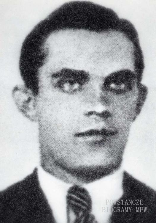 """Zdzisław Antoni Winiarski ps. """"Przemytnik"""" (1916-1979) Fot. zamieszczona m.in. w książce Jędrzeja Tucholskiego """"Cichociemni"""""""