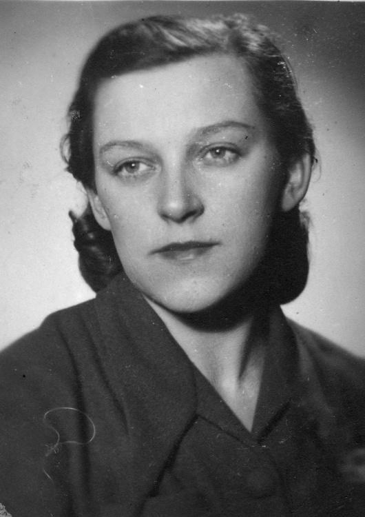 "Hanna Szaniawska-Nartowska ps. ""Agnieszka"". Fot. AR MPW"