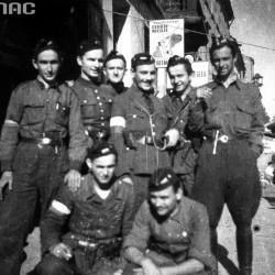 Wrzesień 1944 roku: żołnierze III plutonu kompanii szturmowej batalionu