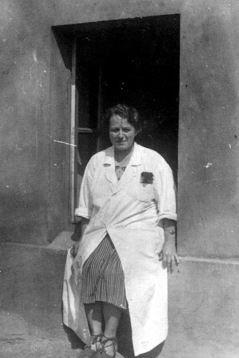 Dr Stefania Chodkowska. Szpital Wolski (1943) Fot AR MPW