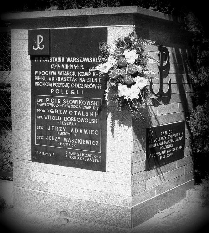 Pomnik u zbiegu ul. Kazimierzowskiej i Madalińskiego na warszawskim Mokotowie. Fot. <i>Wikipedia</i>