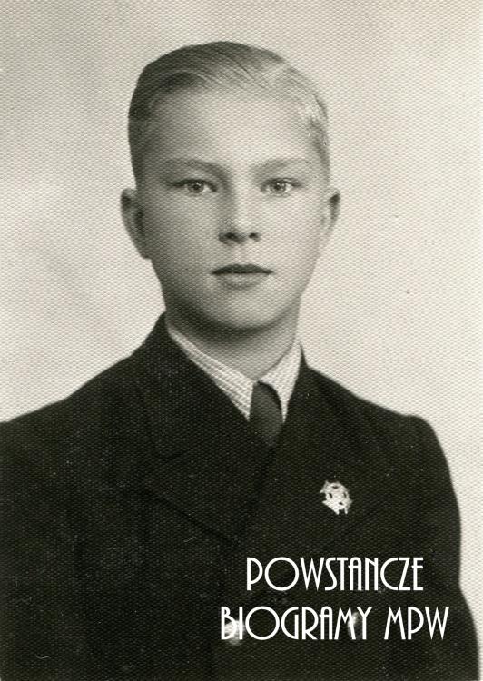 """kpr. Jerzy Łukoski """"Żereń"""" (1926-1992). Fot. udostępnione przez Andrzeja Urbańca"""