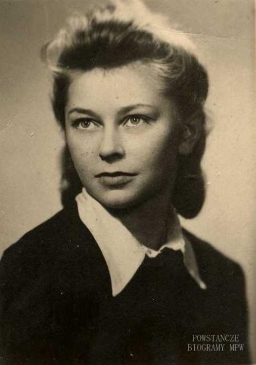 Elżbieta Tyblewska (1926-1944). Fot. archiwum rodzinne / MPW