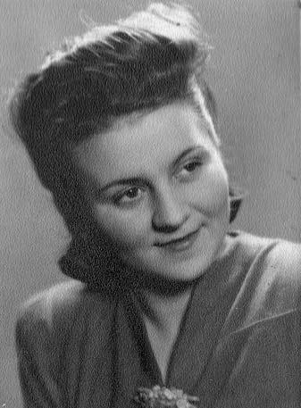 """Krystyna Kamać ps. """"Szafrańska"""" (1924 - 2011). Fot. archiwum rodzinne."""