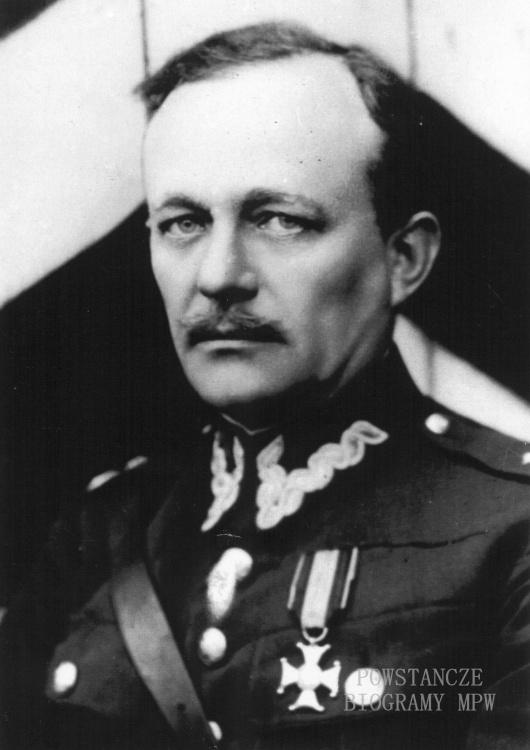 "Remigiusz Adam Grocholski ps. ""Waligóra"" (1888-1965) Fot. AR MPW"