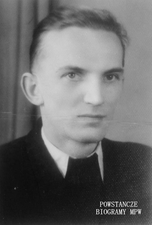 """Jerzy Wróblewski  ps. """"Wir"""" - na zdjęciu w latach 60-tych XX w.  Fot. z archiwum rodzinnego udostępnił p. Jerzy Mądry"""