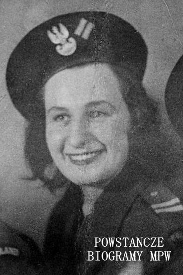Mirosława Szeromska - Bieda (1927-2015) Fot. AR MPW