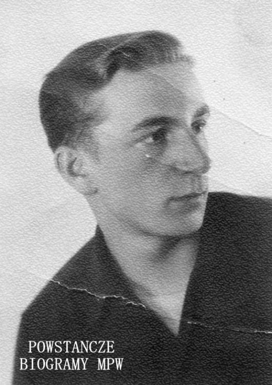 """Jerzy Mirosław Krasiński """"Ignac"""" (1925-1991). Fot. z archiwum rodzinnego Wiesławy Krasińskiej"""