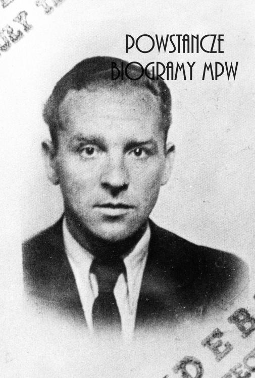 """ppłk. Bohdan Zieliński """"Legus"""", """"Wesołowski"""", """"Tytus"""" (1906-2001). Fot. ze zbiorów Muzeum Powstania Warszawskiego, sygn. P/6932, dar Marii Leskiej."""