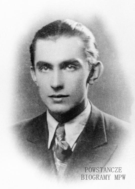 """Wiesław Marian Tyczyński ps. """"Olgierd"""" (1922-1944). Fot. AR MPW"""