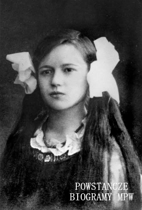 """Wanda Brenstiern-Pfanhauser """"Krystyna"""" (1900-1991). Fot. z archiwum rodzinnego udostępniła p. Ewa Pfanhauser"""