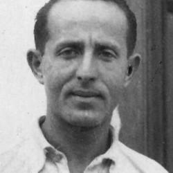 Symcha Guterman (1903-1944). Zdjęcie wykonane przed 1939 rokiem. Z archiwum rodzinnego Jakuba Gutermana udostępnione za pośrednictwem p. Grzegorza Chabowskiego
