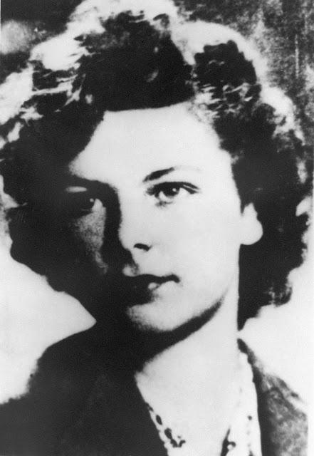 """Krystyna   Vorbrodt """"Kinga"""" (1923-1944) Fot. AR MPW"""