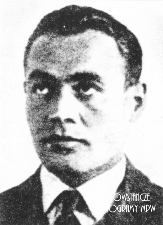 """Kpt. Franciszek Malik """"Piorun"""" (1912 - 2006). Fot. ze zbiorów Muzeum Powstania Warszawskiego, sygn. P/1082"""