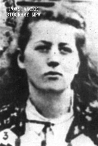 "Maria Alicja Tomicka-Wilkoszewska ps. ""Tessa"" (1928-2011) Fot. <i>Medycy Powstania </i>"