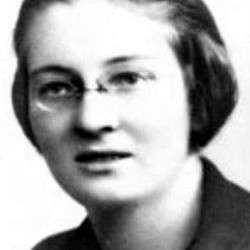 Maria Berka (1901-1944). Fot. udostępniła Magdalena Ciok