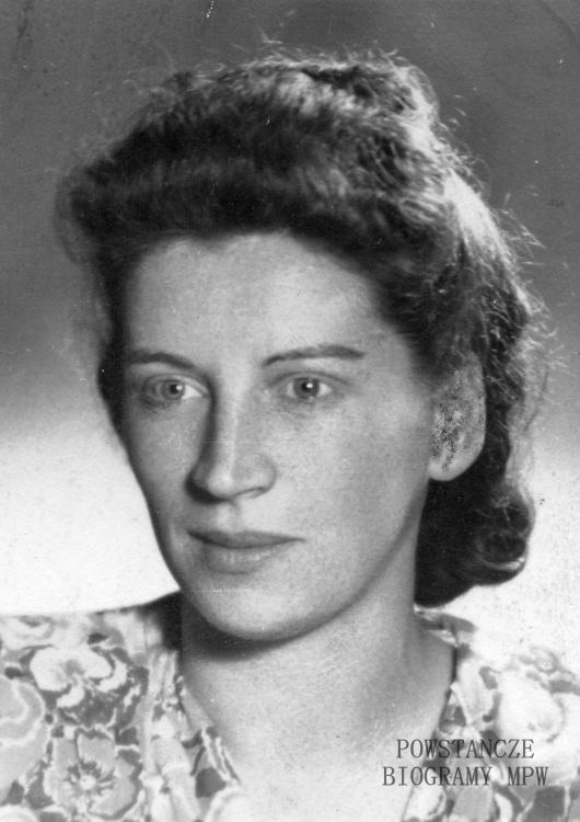 "Antonina Lisiecka ""Lisek"" (1923-1993) Fot. AR MPW"