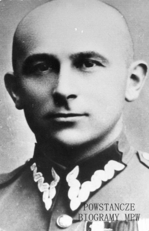 płk. Jan Rzepecki, szef Biura Informacji i Propagandy AK. Fot. ze zbiorów Muzeum Powstania Warszawskiego.
