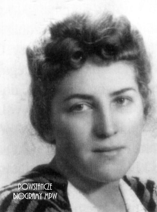 "sanit. Maria Łukawska - Graczyk ps. ""Irena"" Fot. AR MPW"