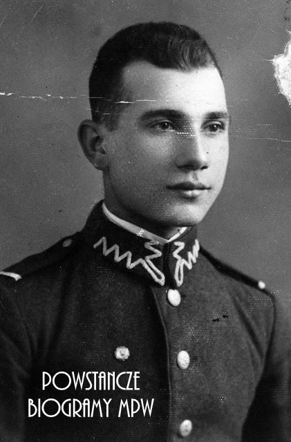 """kpr. Stanisław Romanowski ps. """"Kajtek"""" (1914-2002). Fot. AR MPW"""