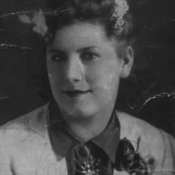 Krystyna Pejsz w latach okupacji.