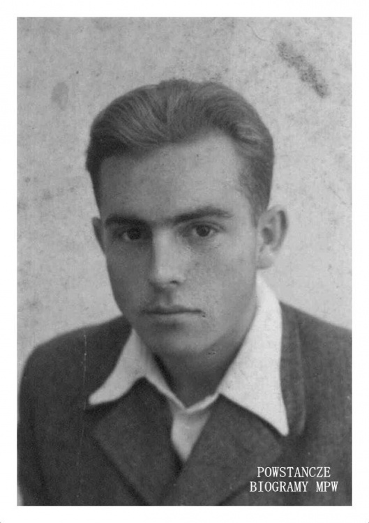 """Witold Wetta-Gorzkowski ps. """"Dzik"""" (1921-1944) Fot. z archiwum phm. Wojciecha Mokwy"""