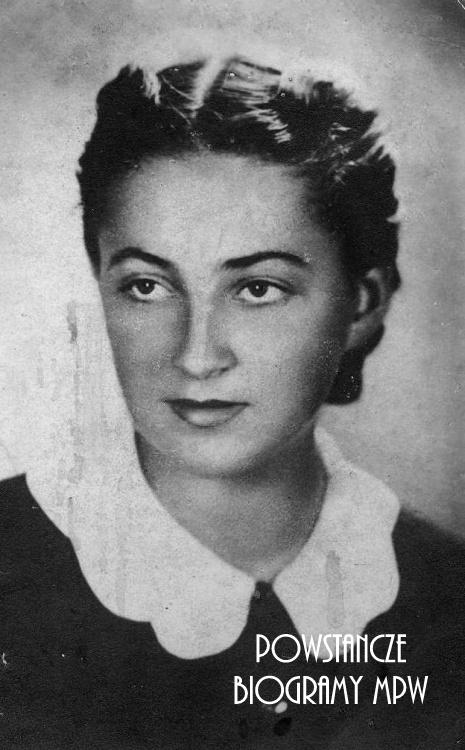 "Janina Trojanowska ps. ""Janka"" (1926-1944) Fot. archiwum rodzinne"