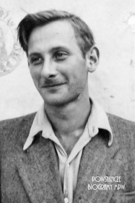 "Wacław Dunin-Karwicki ps. ""Luty"" (1918-1944) Fot. AR MPW"