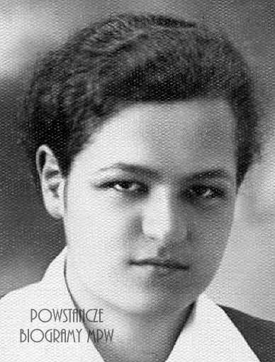 """Danuta Tuz """"Anna"""" (1915-1944)."""