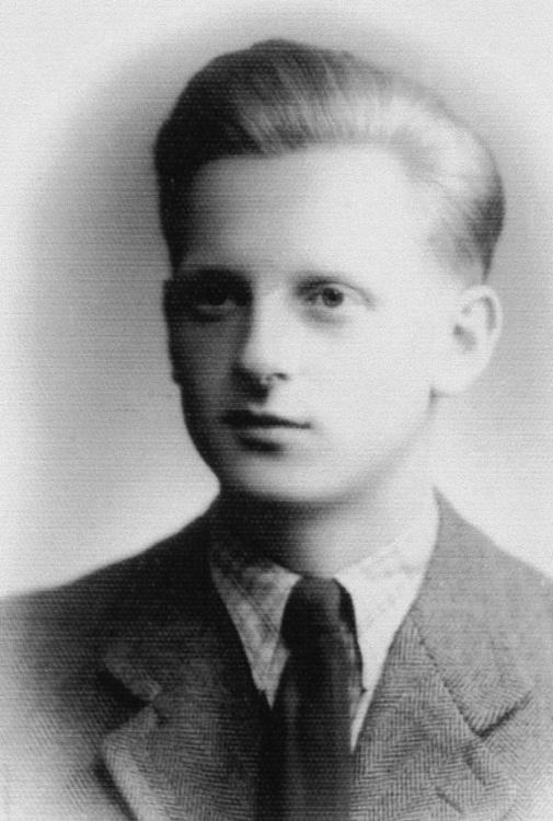 Czesław Wojak - zdjęcie okupacyjne