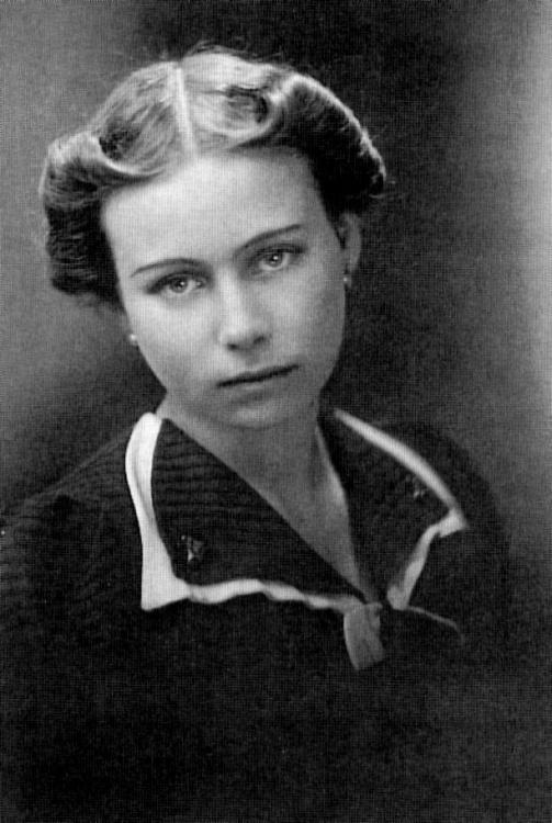 """Halina Donimirska-Szyrmer """"Halszka"""". Zdjęcie z roku 1938.  Fot. AR MPW"""