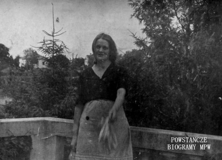 Antonina Wójcik (1897-1982) Fot. archiwum rodzinne, udostępniła Jolanta Czarnocka.