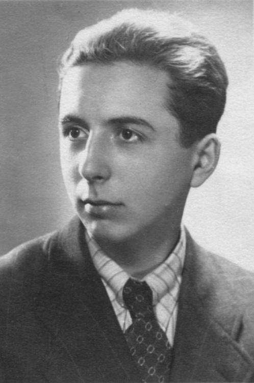 """Przemysław Garwacki """"Rokita"""" (1923-1944). Fot. archiwum rodzinne / MPW"""