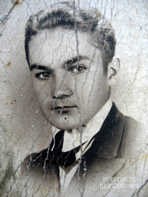 """Zygmunt Potelarski """"Kazur"""" (1927-1944). Fot. nadesłane przez Michała Matczuka."""