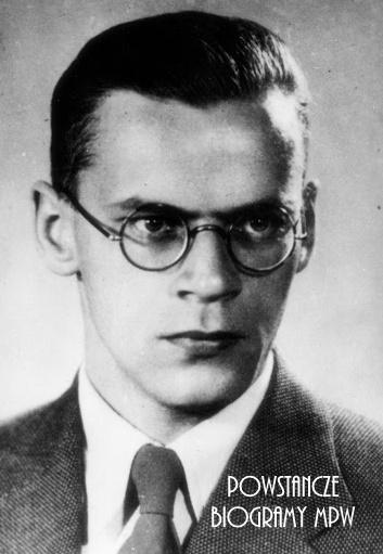 """kpr. pchor. Tadeusz Malinowski """"Skarbek"""" (1903-1944). Fot. AR MPW"""