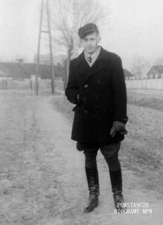 """Kapral Tomasz Maria Białowiejski """"Jastrzębiec"""" (1921-1989)  Fot. archiwum rodzinne"""