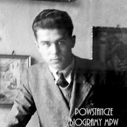 ppor. Edward Skubniewski (1914-1944). Fot. udostępnił p. Jerzy Rymkiewicz