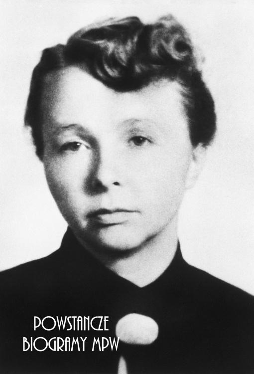 "Ewa Ott ""Ewa"" (1923-1952). Fot. AR MPW"
