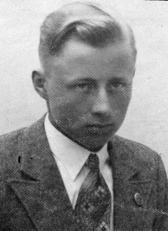 """Tadeusz Dobrzański """"Pogorzelski"""". Fot. archiwum rodzinne."""