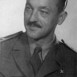 Janusz Ciechanowski - maj 1945 r.