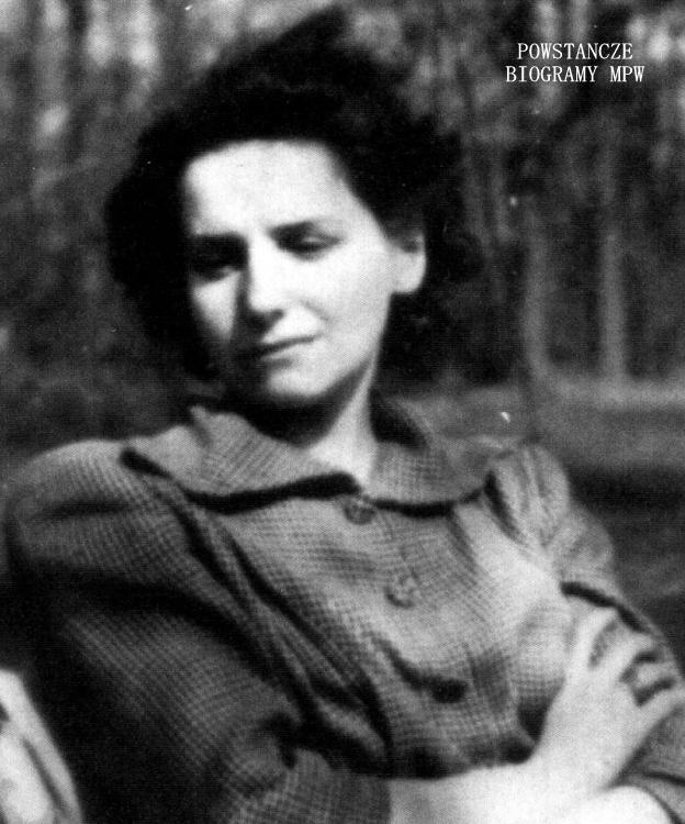 """Wisława Samulska-Skłodowska ps. """"Anna"""", """" Wisia"""". Fot. AR MPW"""