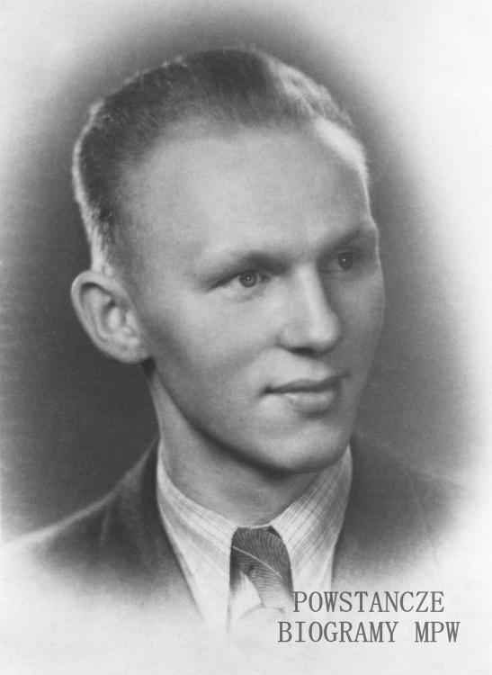 """Zdzisław Władysław Nałęcz ps. """"Włodek"""" (1919-1944). Fot. AR MPW"""