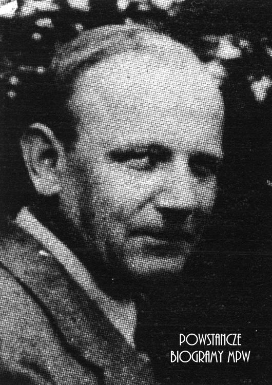 """Florian Kołodziejczak ps. """"Maks"""" (1885-1944) Fot. AR MPW"""