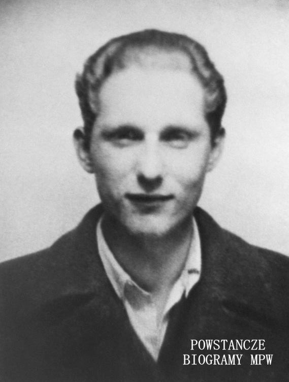 """plut. Kazimierz Włodarczyk """"Patrik"""" (1927-1944). Fot. AR MPW"""
