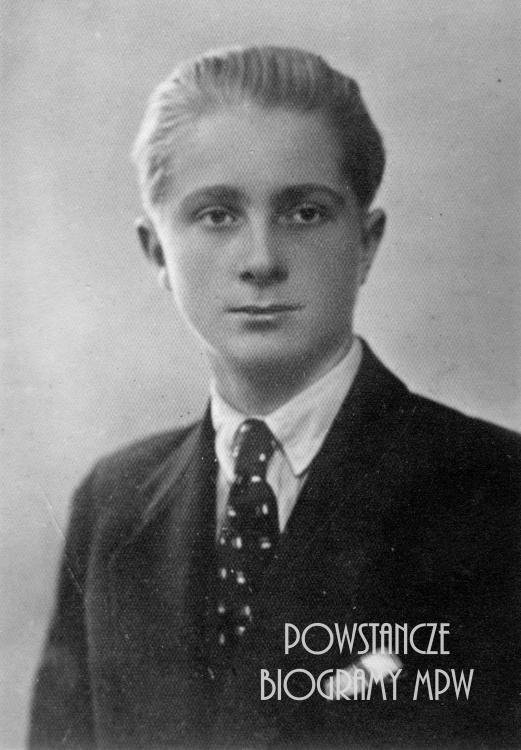 """Wojciech Wyganowski """"Dudziarz"""" (1921-1944). Fot. archiwum rodzinne"""