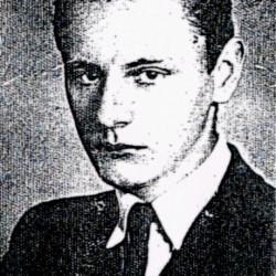 Jerzy Piętka (1924-1944) Zdjęcie z archiwum rodzinnego Ewy Piętki