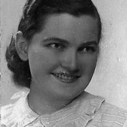 Jadwiga Daniela Wyganowska. Fotografia z archiwum rodzinnego.