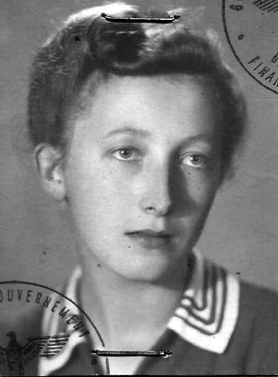 """Łucja Teresa Pierzchałko """"Ludka"""". Zdjęcie z archiwum rodzinnego córki."""