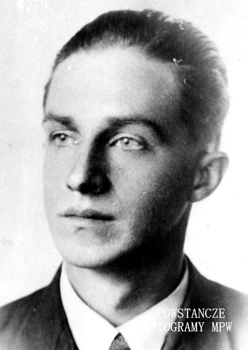 """ppor. Józef Nowocień """"Konrad"""", zastępca dowódcy plutonu 3 kompanii """"Giewonta"""" (1920-2004)"""